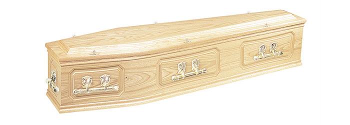 Brinkey Oak Coffin