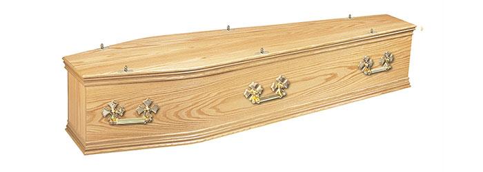 Windsor Oak Coffin