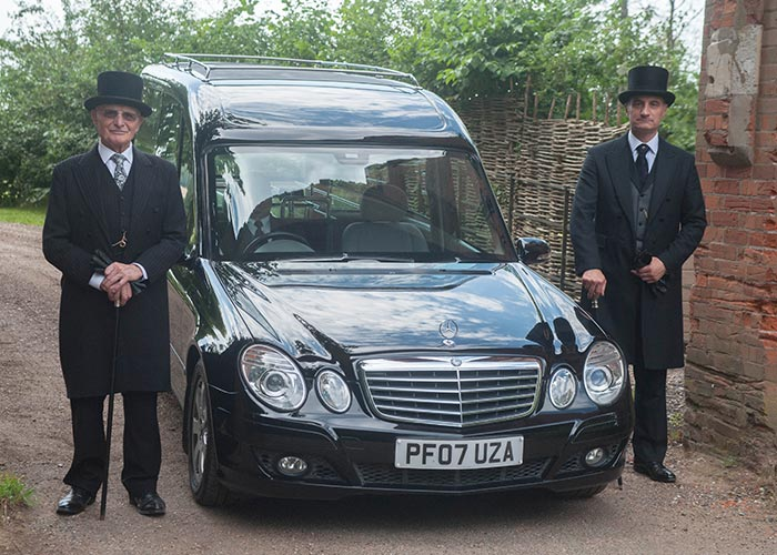 Funeral Transport, Sudbury, Suffolk, Lavenham